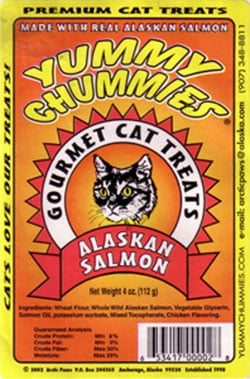 Yummy Chummies Alaskan Salmon Cat Treats