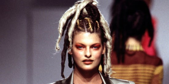 Linda Evangelista's Wildest Runway Hairstyles Over The Years