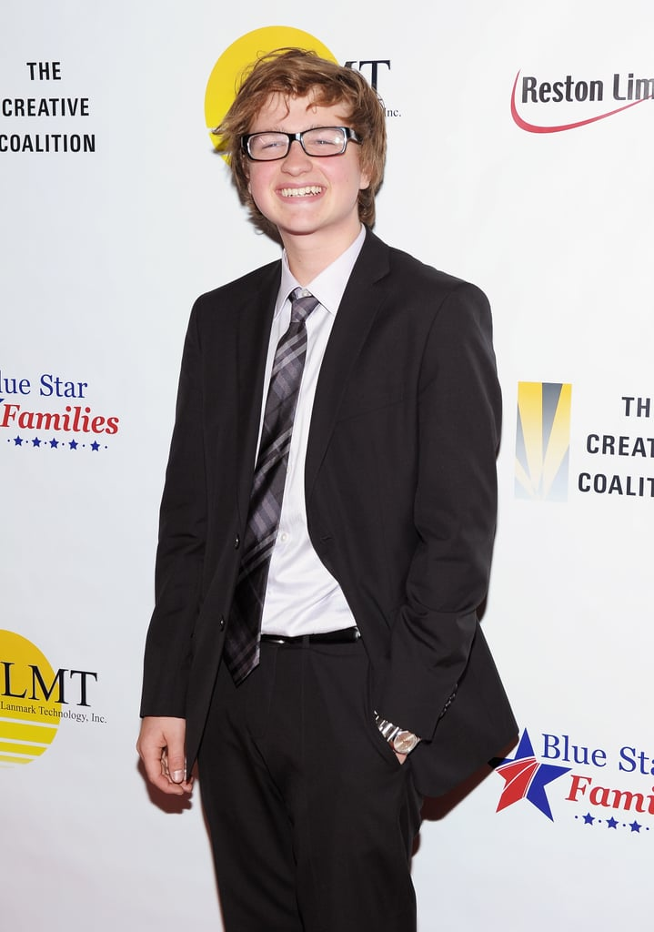 All grown up at the Creative Coalition's Salute to Blue Star Families in April 2011.