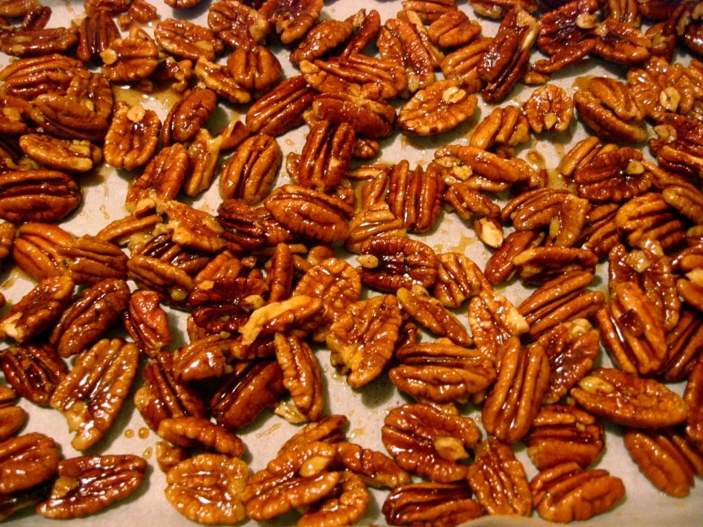 Nigella's Maple Pepper Pecans