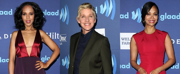 The Stars Showed Off at This Weekend's GLAAD Media Awards