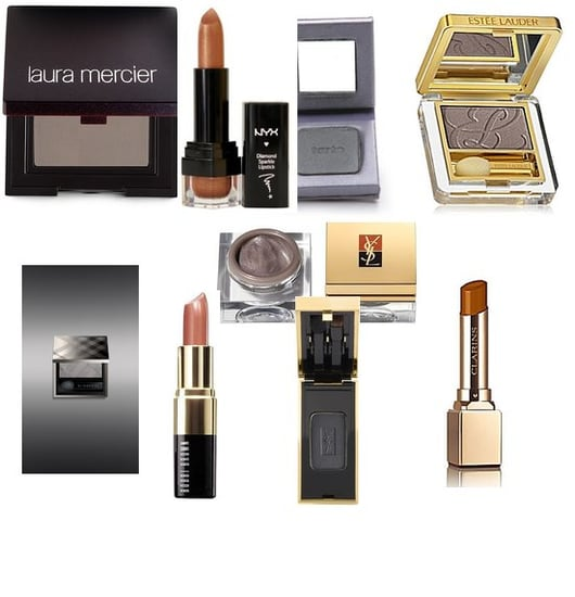 Get Gray Smoky Eyes and Neutral Lipstick