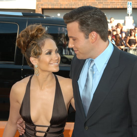 Ben Affleck and Jennifer Lopez Throwback Pictures