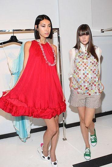 Backstage Beauty:  Alice + Olivia