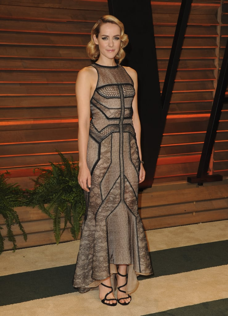Jena Malone looked totally glam at the bash.