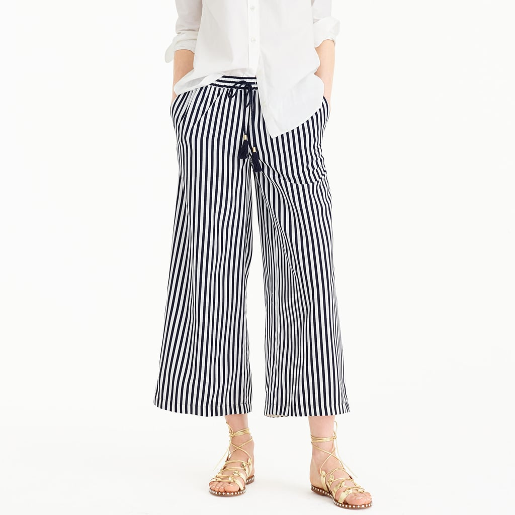 J. Crew Striped drawstring pant ($75)