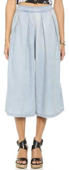 Re:named Denim Culotte Pants