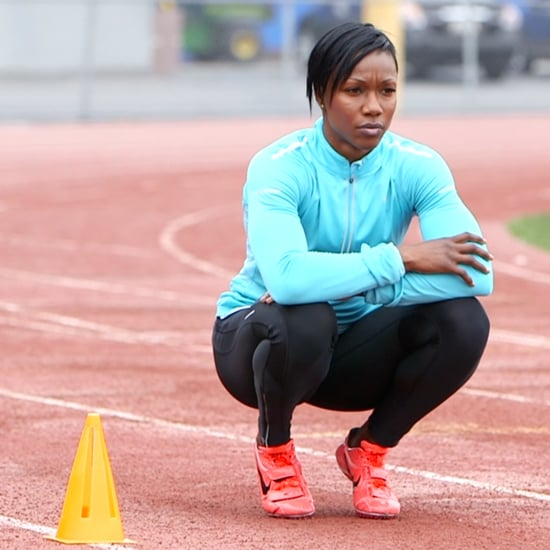 Carmelita Jeter Olympic Interview on In Her World   Video