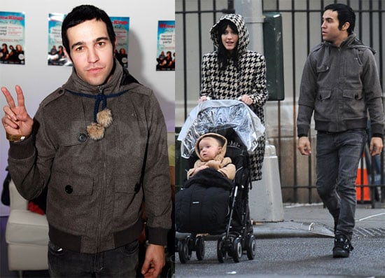 Photos of Pete, Ashlee, and Bronx At the Park in NYC