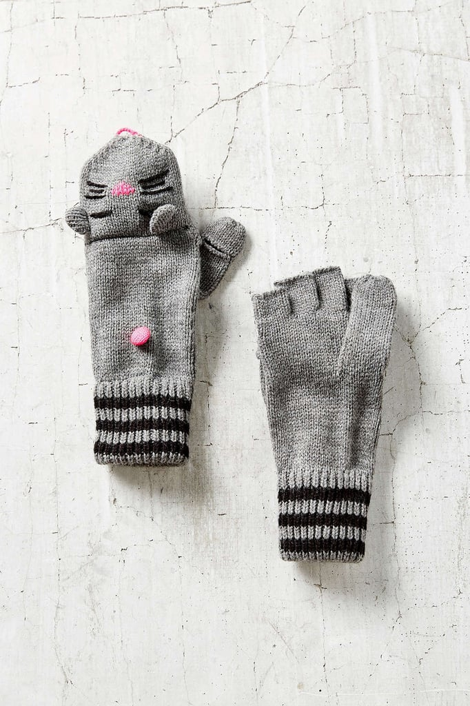 Help someone special brave the Winter in style with these animal convertible gloves ($22).