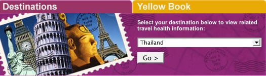 Traveling Overseas:  Check with the CDC