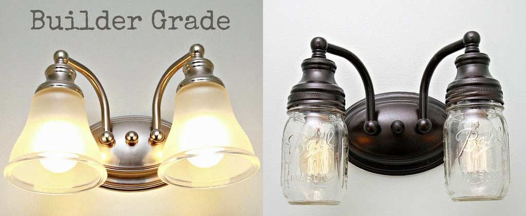 DIY a Vintage-Inspired Light Fixture With Mason Jars