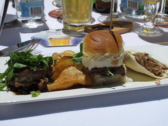 Tim Love's Three Animal Lunch at the Food & Wine Classic