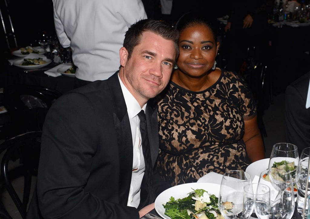 Tate Taylor and Octavia Spencer posed for photos at the gala in LA.