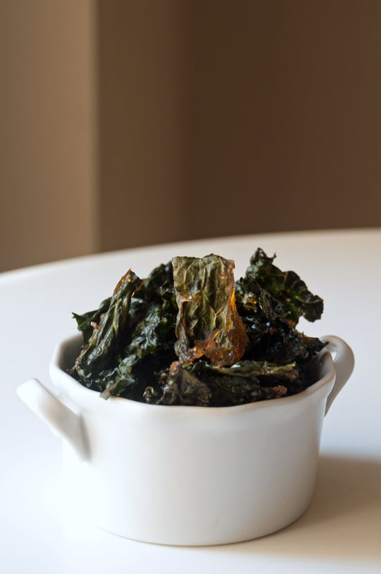 Maple Bacon Kale Chips