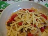Pasta with Marinated Mushrooms and Cashew Cheese