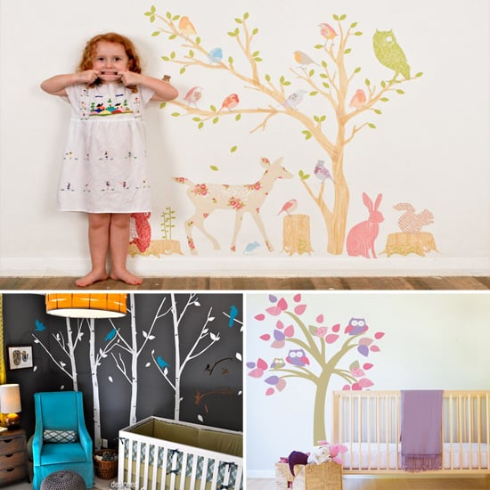 Pimp Your Crib: 9 Tree Wall Decals From Etsy