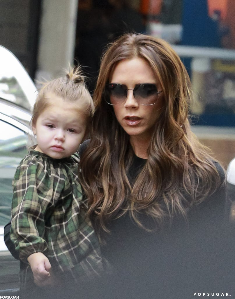 Victoria went out with Harper after wrapping up her two fashion shows at NYFW.