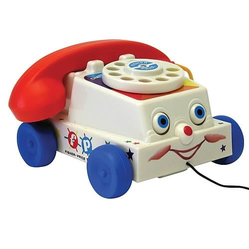 Fisher-Price Chatter Telephone — 1962