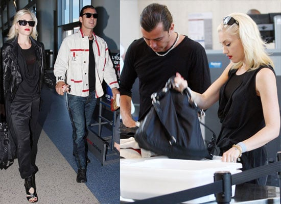 Photos of Gwen Stefani and Gavin Rossdale at LAX