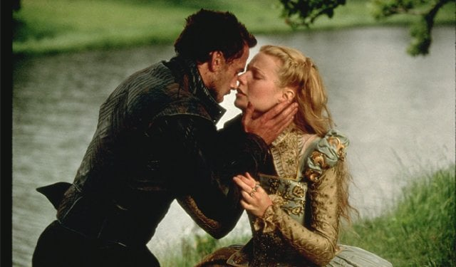 Gwyneth Paltrow and Joseph Fiennes, 1999