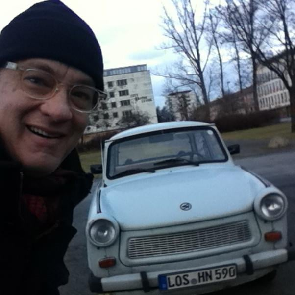 Tom Hanks visited historic Eisenhuttenstadt during a recent trip to Germany. Source: Tom Hanks on WhoSay