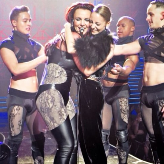 Nicole Richie at Britney Spears's Piece of Me Show | Video