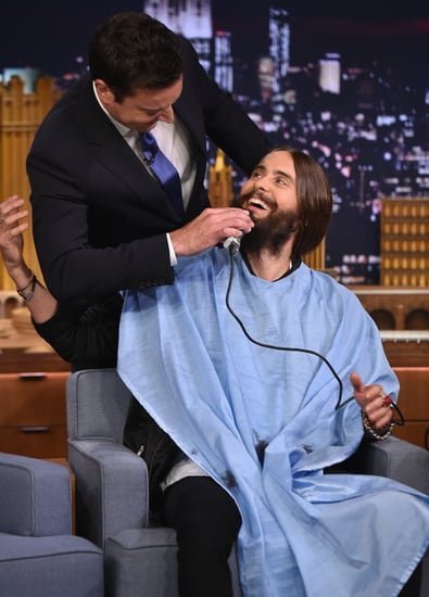 Jared Leto Finally Got the Beard Grooming He Needed From Jimmy Fallon