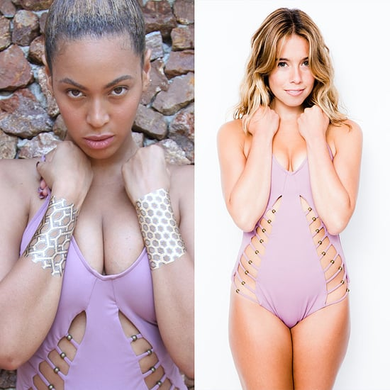 Beyonce Wearing a Mara Hoffman Swimsuit