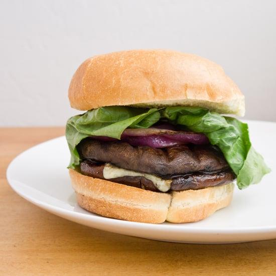 Portobello Mushroom Veggie Burger Recipe