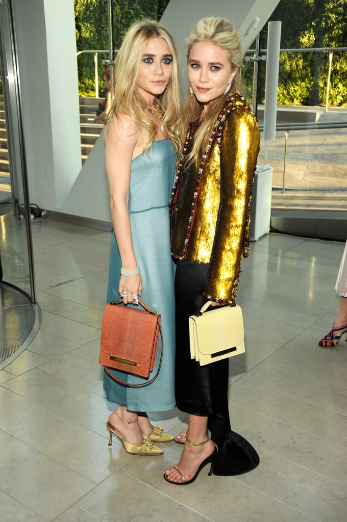 Ashley and Mary-Kate Olsen, both in The Row