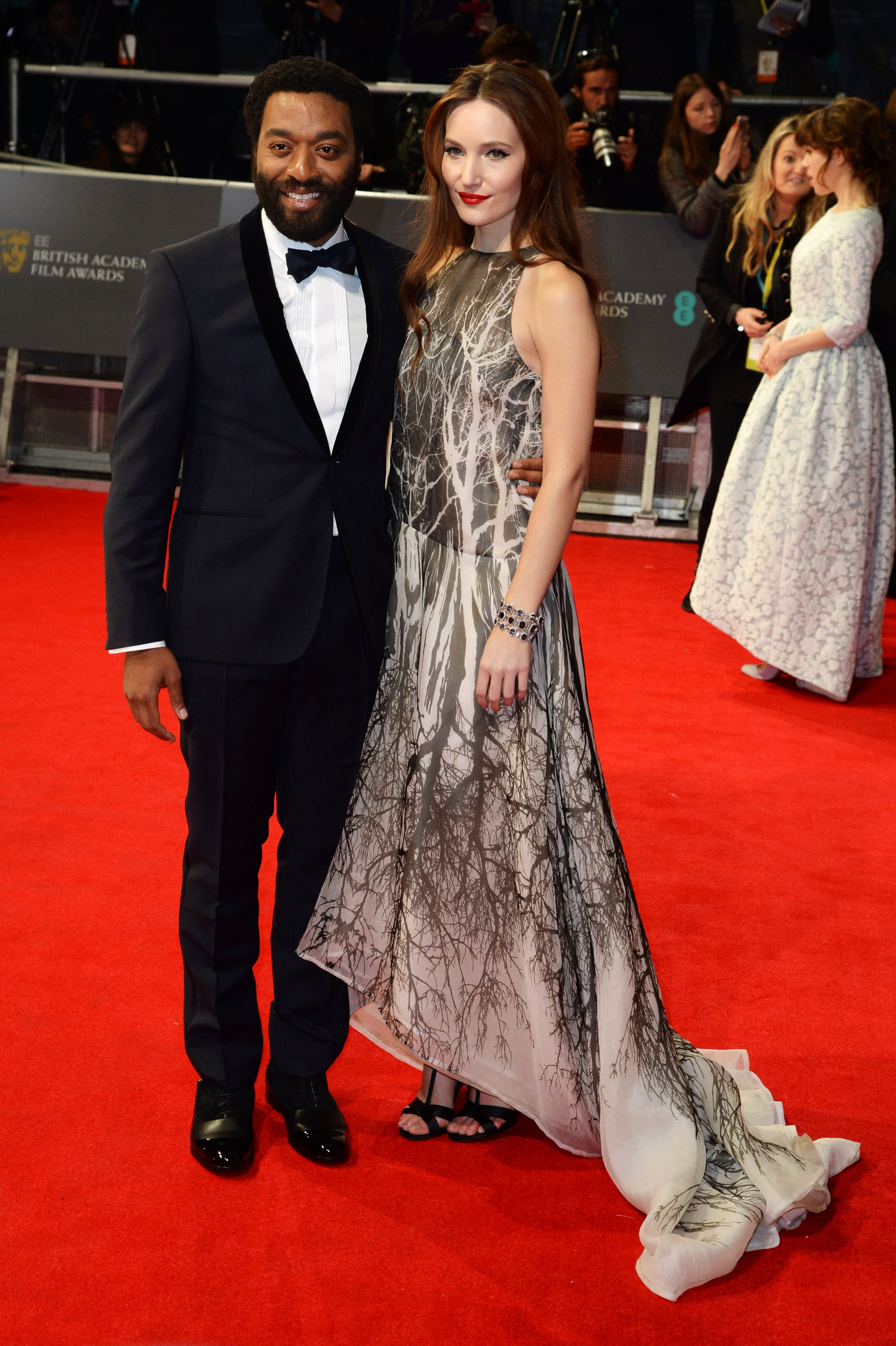 Chiwetel Ejiofor at the 2014 BAFTA Awards.