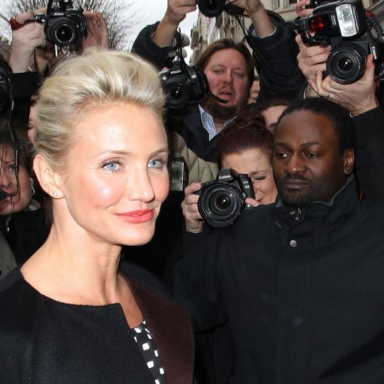 Cameron Diaz Paris Couture Fashion Week (Video)