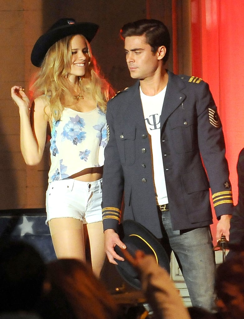 Zac Efron filmed a party scene for Townies.