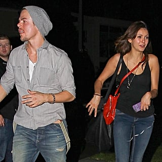 Nina Dobrev and Derek Hough on a Date   Pictures
