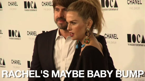 Video of Rachel Zoe and Rumored Baby Bump on the Red Carpet 2010-11-15 09:49:21