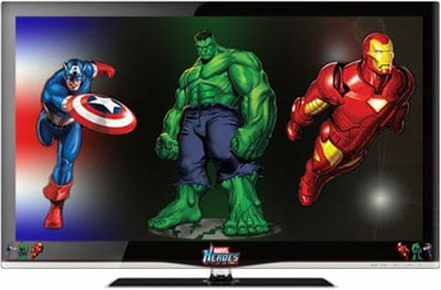 New Marvel Branded TV Sets