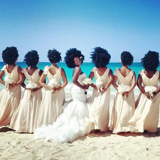 Natural Hair Wedding Photos | Summer 2016