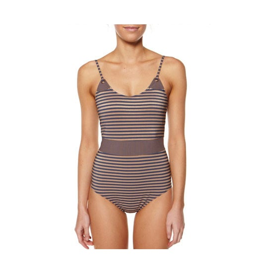 A one piece cossie is a hard-working staple for a day on the ground. If you get hot and sweaty you can take off your top and still be (relatively) covered. One piece, $219.95, Tigerlily