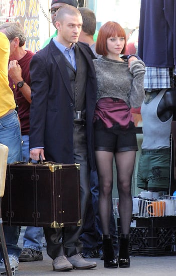 Pictures of Justin Timberlake and Amanda Seyfried Filming Now in LA