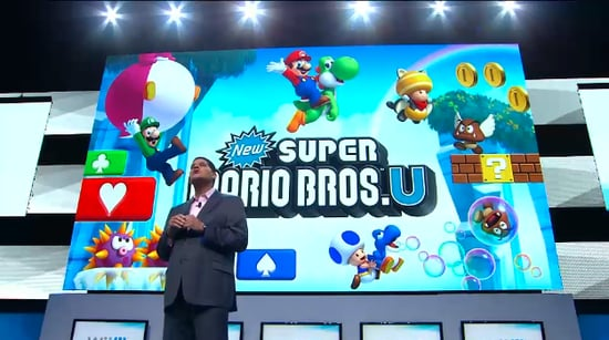 Super Mario Bros. U and Scenes From Nintendo's E3 Presentation