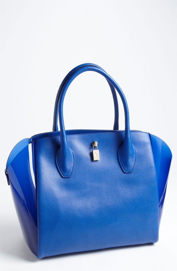 Even the most professional of satchels isn't exempt from a shade makeover. A brightened-up structured shape, like this Furla option ($398), is our pick for those who need to keep their 9-to-5 look sophisticated.