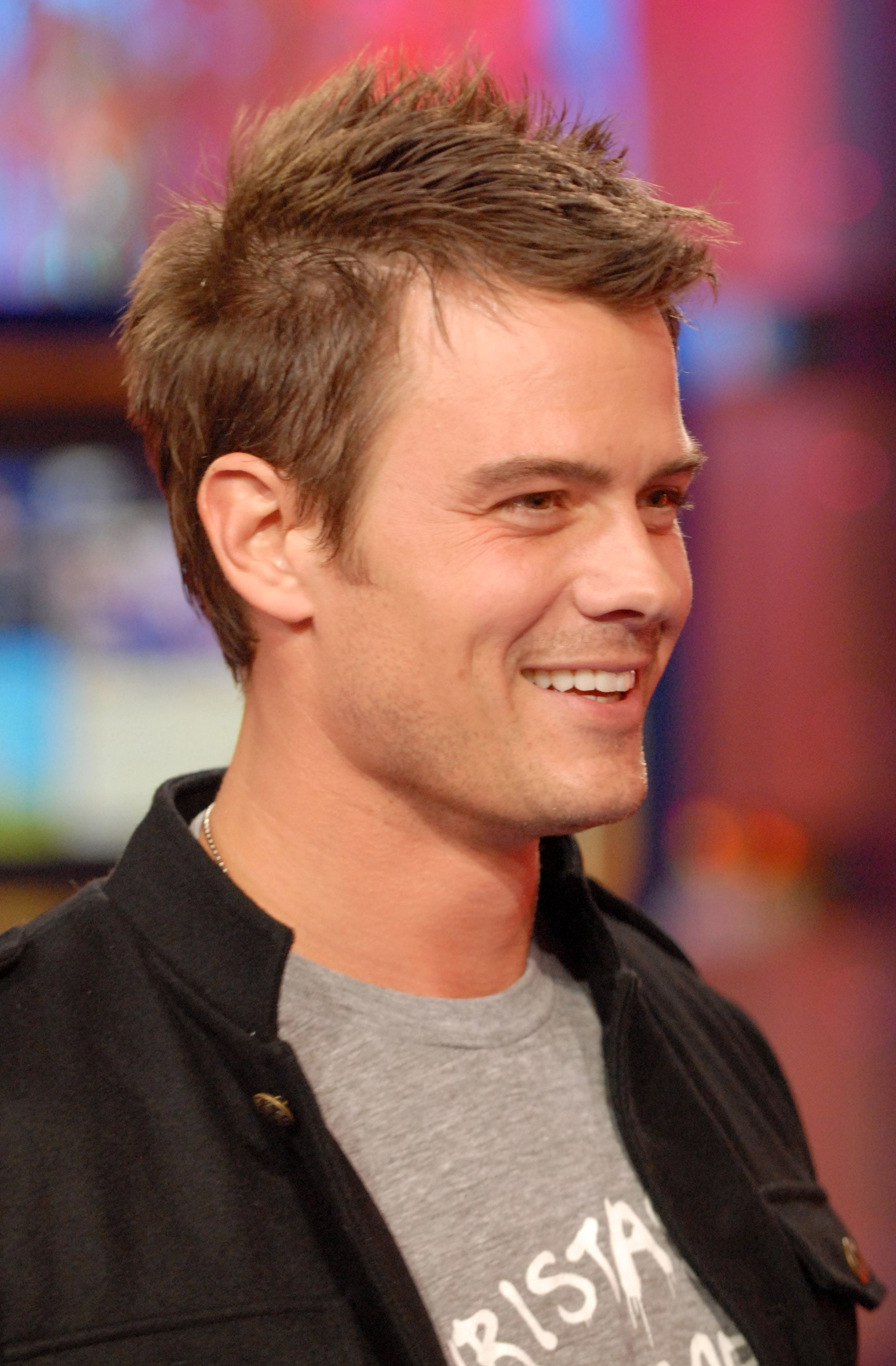 Josh visited MTV's TRL in November 2006.