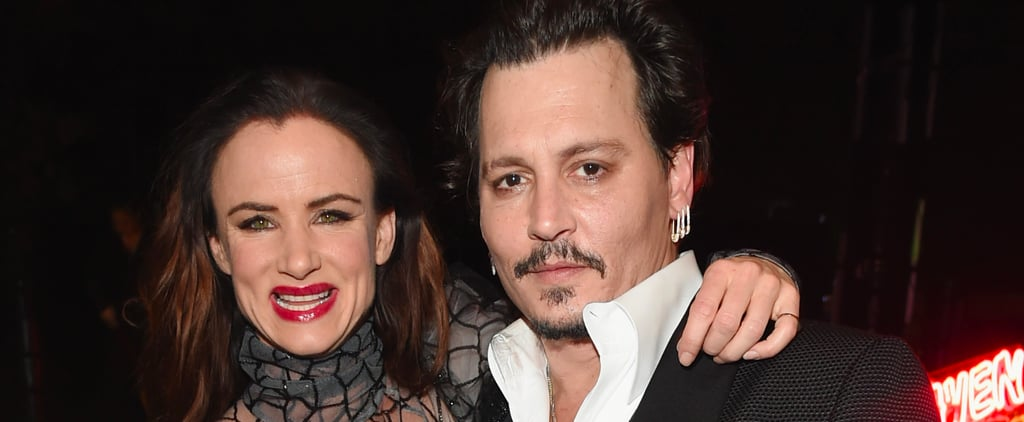 Costars and Former Couple Johnny Depp and Juliette Lewis Reunite at an LA Gala