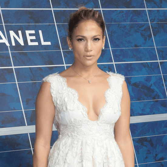 Jennifer Lopez at Paris Fashion Week Spring 2013 (Video)