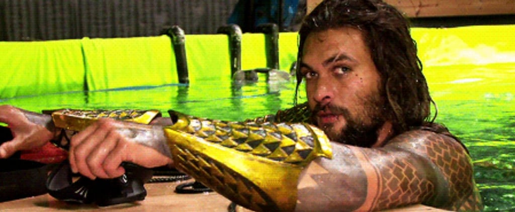 This Behind-the-Scenes Footage Proves That Jason Momoa Was Born to Play Aquaman