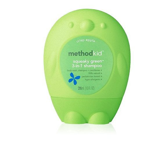 Method Kid Squeeky Green 3 in 1 Shampoo