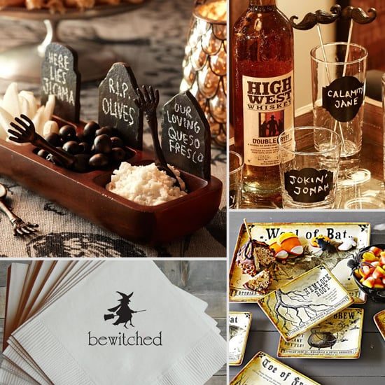 Bewitching Bar and Tableware For Your Next Halloween Party