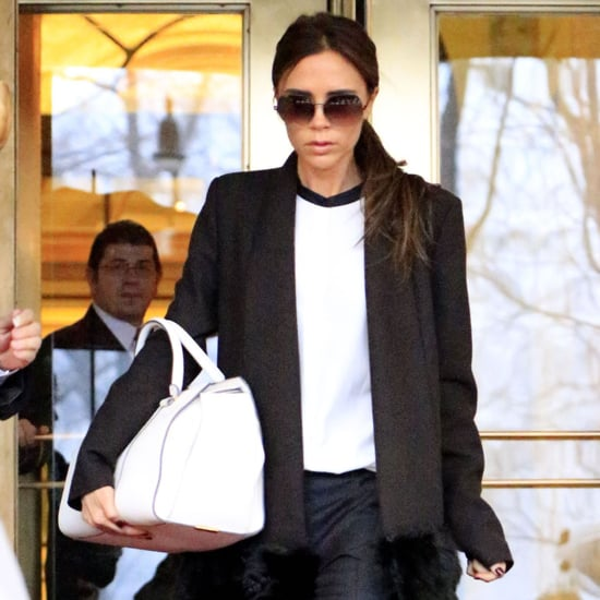 Victoria Beckham Leaving The Plaza Hotel in NYC | Pictures