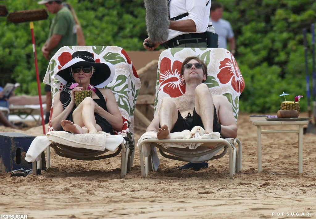 Monica Potter and Peter Krause filmed Parenthood in Maui.